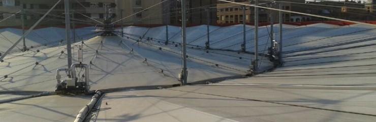 Mejora del sistema de achique en carpa de la Plaza de Toros de Zaragoza