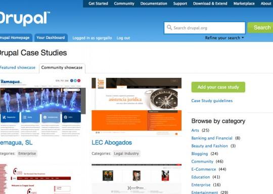Remagua.es aparece como caso de estudio en Drupal.org